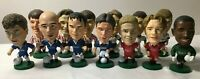 14 Corinthian Prostar Footballers Various Teams Everton Liverpool Chelsea Spurs