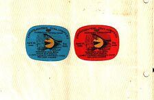 2 Different Nice Robinson Run Consol Coal Co. Coal Mining Sticker # 208