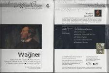 cd+libro guida all'ascolto I Grandi della Musica Classica - vita opere WAGNER