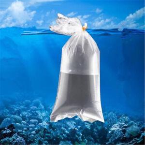 10/20/50PCS Aquarium Breathing Bags Flat bottom Bags For Transport Fish Shrimp