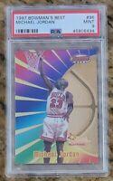 HOF Michael Jordan 1997 Bowman's Best #96 Chicago Bulls PSA 9 MINT