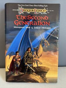 TSR Dragonlance The Second Generation 1st Ed. HC  Weis Hickman ~ NICE!!!