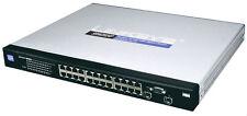 Cisco LINKSYS SRW2024P 24-port Gigabit PoE Switch (2024P) WebView, 10/100/1000
