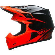Bell Moto 9 casco infrarrojo Negro Naranja MX Motocross BMX Dirt Bike carrera venta