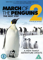 March of the Penguins 2: The Next Step DVD (2018) Luc Jacquet cert U ***NEW***