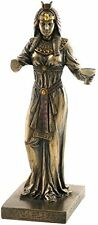 "8.25"" Egyptian Queen Holding Cup Egypt Home Decor Statue Figure Sculpture"