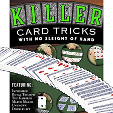 Magic Makers Killer Card Tricks - No Sleight of Hand Required