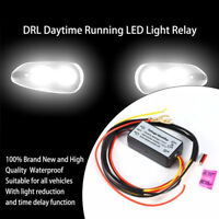 Car LED Daytime Running Light DRL Relay Harness Automatic On Off Dimmer