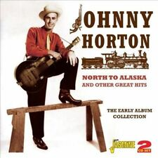 North to Alaska and Other Great Hits: The Early Album Collection by Johnny Horton (CD, Jun-2012, 2 Discs, Jasmine Records)