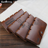 Men High Capacity Leather Clutch Long Wallet Credit Card Holder Retro Purse