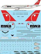 26Decals 1/144 Airbus A330-300 - Northwest Airlines- Laser Decal