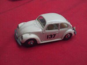 LESNEY No.15d VOLKSWAGEN BEETLE RACING CAR NO.137 IN V.G.C.