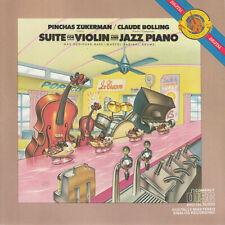 Claude Bolling / Pinchas Zukerman Suite for Violin & Jazz Piano CD Masterworks