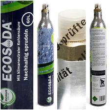 CO2 Zylinder Sprudelwasser für Sodastream Wassersprudler + Reservezylinder Neu