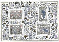 LE SALON DU TIMBRE 2014 - BLOC FEUILLET N° 135 -