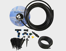 CONTAINER GREENHOUSE DRIP KIT IRRIGATION PROFESSIONAL FLOWERS WATER SYSTEM