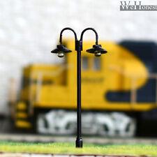 15 pcs HO / OO Model Lamppost LED made Lamp long life street light NO Hot #L611