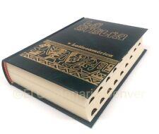 La BIBLIA LATINOAMERICA tamaño bolsillo pasta dura Con Uñeros Catolica VERDE