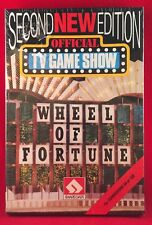 NEW 1988 Vtg Official TV GAMESHOW 2ND EDITION Wheel of Fortune Commodore 64/128