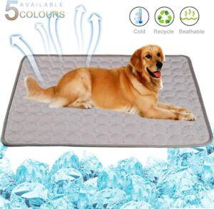 Dog Summer Cooling Pet Cold Silk Moisture-Proof Cooler Sofa Mats Pet Accessories
