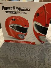 power rangers legacy red ranger helmet