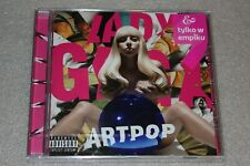 LADY GAGA - ARTPOP -  EU RELEASE 2019 edition with  POLISH STICKERS