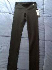 "NWT Designer BCBG Max Azria ""Toledo"" Light Leggings XS Ret.$108 Black Silk Blend"