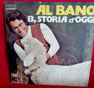 AL BANO Collezione di 10 singoli 45rpm 7' + PS ITALY 1960/70 da EX+ a MINT-