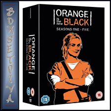 ORANGE IS THE NEW BLACK COMPLETE SERIES 1 2 3 4 & 5 *BRAND NEW DVD BOXSET