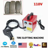 110V Tire Cutting Grooving Machine for Car Truck Motorcycle Tire Grover Tool NEW