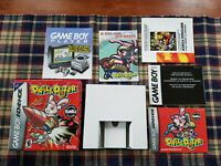 Drill Dozer - Authentic - Game Boy Advance - GBA - Box / Manual Only!