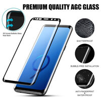 3D Curved Tempered Glass Screen Protector for Samsung Galaxy Note 9, Note 8, S9