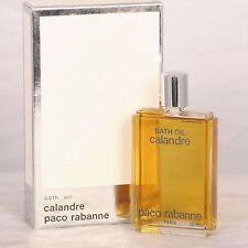 VINTAGE PACO RABANNE CALANDRE 1 oz perfume oil bath oil