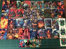 Assorted 1994 Marvel Trading Cards - Spider-Man & Marvel Masterpiece