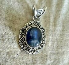 Natural Kyanite Pendant 925 Silver Pendant Gothic Pendant Wedding Gift Pendant