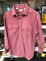 Vintage  LL Bean Men's Flannel Chamois Cloth Button Down Shirt Brown Size 16