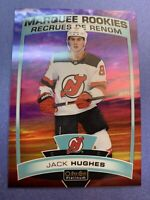 2019-20 OPC Platinum Marquee Rookie Sunset Parallel #200 Jack Hughes NJD SP RC
