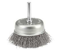 3 in. Wire Cup Brush with 1/4 in. Shank  Quickly remove rust & scale  BY WARRIOR
