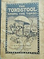 "B H Shadduck~1st ED`""The Toadstool Among the Tombs""Rare Religious Pamphlet1925"