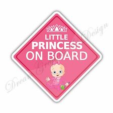 Baby on Board Full Color Adhesive Vinyl Sticker Window Car Bumper 027