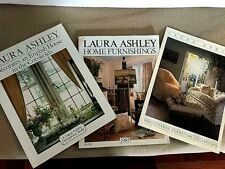 3 Vint. Lot Laura Ashley 1985 Home Furnishing Catalog Cotswolds House Furniture