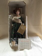 "Franklin Heirloom Maids Of The 13 Colonies 12"" ""Mib"" Abigail Of New Hampshire"