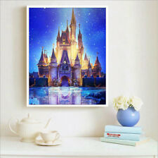AU Cartoon Disney Castle 5D Full Diamond Painting Embroidery Cross Stitch Kit ZG