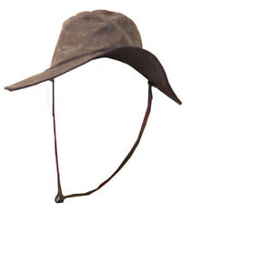 Oilskin Hat Stock Style Slouch Hat Medium Or Large