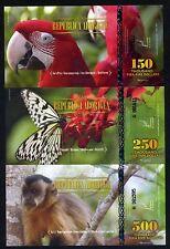 SET Republica Aborigen, 150000;250000;500000 Pire Para Dollars POLYMER, 2014 UNC