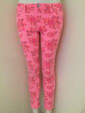 NUOVO Primark Denim & Co Rosa Floreale Skinny Jeans Taglia 8