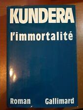 L'immortalitè - Kundera - Gallimard - 1990  - M