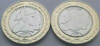 2019 Isle of Man Steve Hislop TT £2 coin Set - Uncirculated