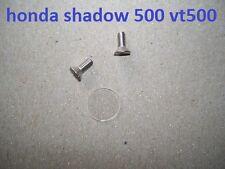 83-86 Honda Shadow 500 Brake Master Cylinder Sight Glass Lens Window