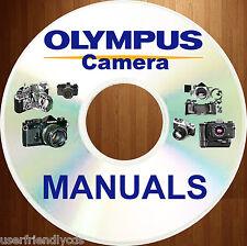 Olympus OM-10 OM10 SERVICE, PARTS, USER, OPERATOR, INSTRUCTION MANUALS Manual CD
